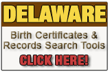 Delaware birth records and birth certificate search