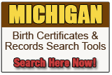 Michigan Birth Record Search