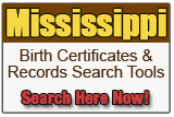 Mississippi Birth Records